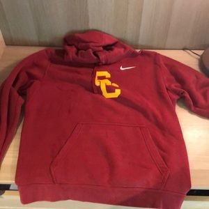 USC red Trojan sweatshirt